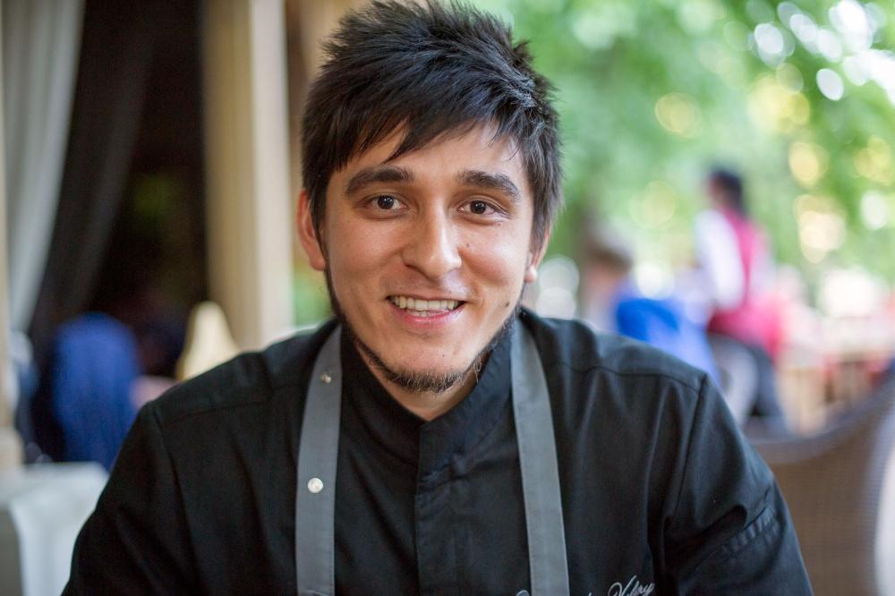 Валера Порядин, шеф повар ресторана Беллини. Фото Бориса Мальцева, Кублог