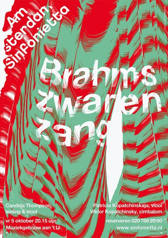 Плакат - Studio Dumbar (Голландия)